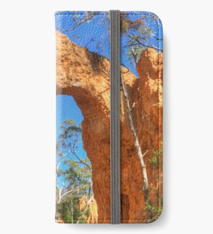 The Golden Arch of Hill End iPhone Wallet