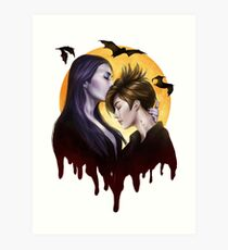 Vampire Kiss Art Print