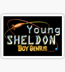 Young Sheldon Boy Genius Sticker
