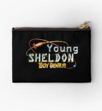 Young Sheldon Boy Genius Studio Pouch