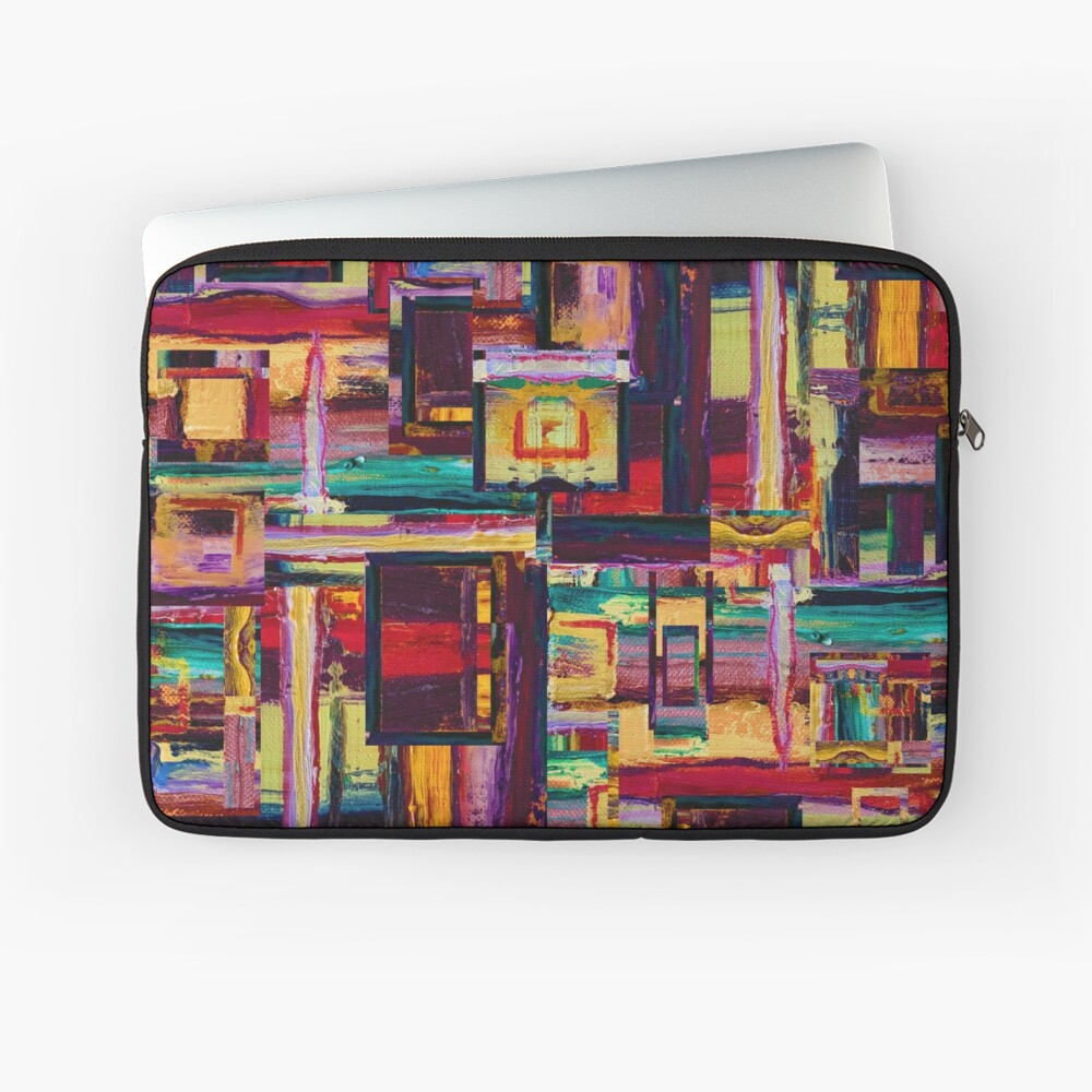 Windows to Red Planet Laptop Sleeve