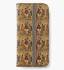 Holy Trinity by Rublev iPhone Wallet/Case/Skin