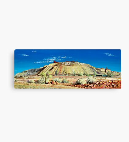 The Line of Lode - Broken Hill Canvas Print