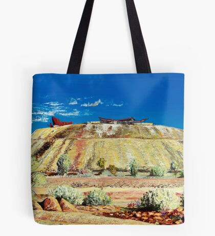 The Line of Lode - Broken Hill Tote Bag