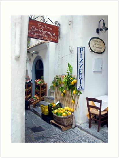 Amalfi, Italy by Sheila Laurens