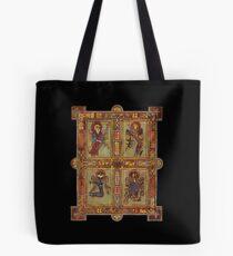 Evangelist Illustrated Manuscript Page Tote Bag