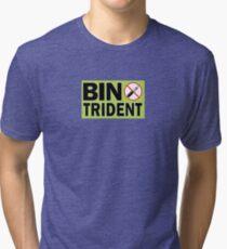 THREE PRONGS Tri-blend T-Shirt