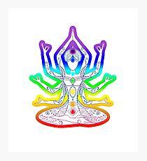 Kundalini Yoga Girl Photographic Print