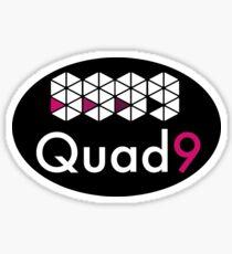 Quad9 DNS 9.9.9.9 Sticker