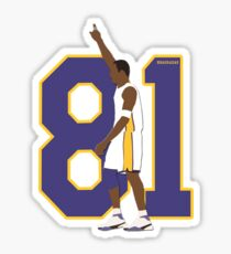 Kobe Bryant 81 points Sticker