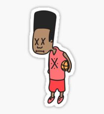 Basketball Boi Sticker