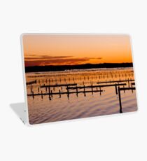 Sunset Gold And Pink Laptop Skin