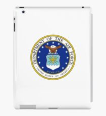 US Department of the Air Force iPad Case/Skin