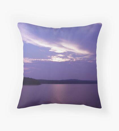 chloe's sunset - marianne troia Throw Pillow