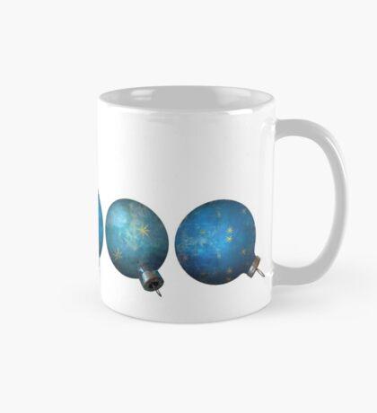 Blue Ornaments #3 Mug