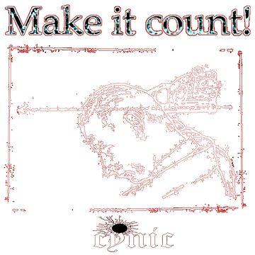 Make it count! - Cynic Suicide-instruction Alter (Black) by Drehverworter59