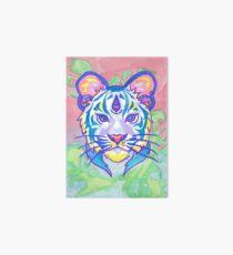 Clairvoyant Pastel Tiger Art Board