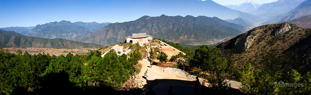 Panorama Of Yufeng Temple by MiImages