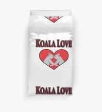 Koala Love  Duvet Cover