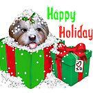 "Unconditional Love ""Happy Holidays"" XO! by Couchpetatoart"