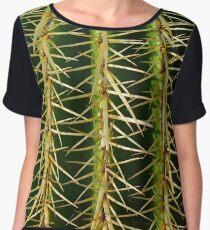 Cactus Ribs Chiffon Top