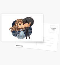 Starfall Dance Postcards