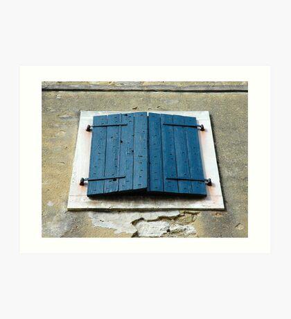 Windows & Shutters - 5 Art Print