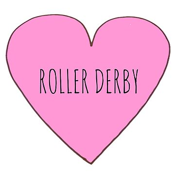 Roller Derby Love by Bundjum