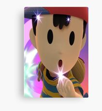 Ness | Super Smash Bros | Mario  Canvas Print