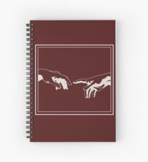 Creation of Adam - Michelangelo Spiral Notebook