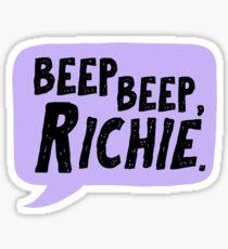 Beep beep, Richie / IT Sticker