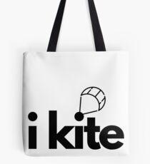 iKite Black Tote Bag