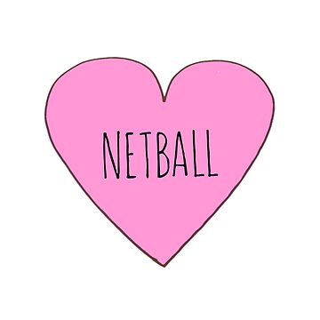Netball Love by Bundjum