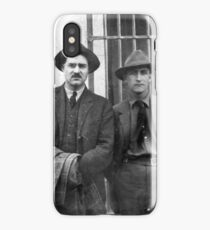 Hemingway and Fitzgerald iPhone Case/Skin