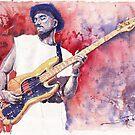 Jazz Legends in Watercolour by Yuriy Shevchuk by Yuriy Shevchuk