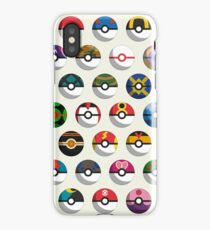 Pokéballs of the World iPhone Case/Skin