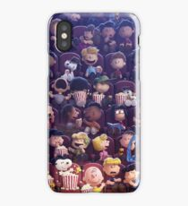 Snoopy at the movies iPhone Case/Skin