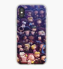 Snoopy at the movies iPhone Case