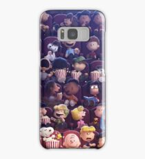 Snoopy at the movies Samsung Galaxy Case/Skin