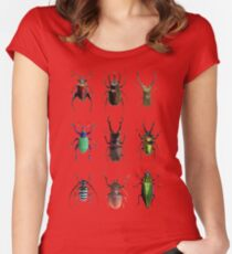 Beetles #1 Women's Fitted Scoop T-Shirt