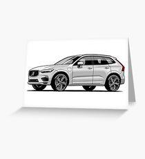 Volvo XC60 SUV Greeting Card