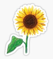 little sunflower Sticker