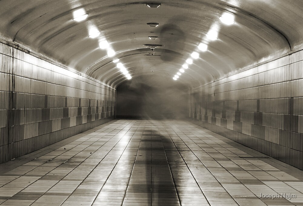 Ghost of the Tunnel ! by Joseph Najm
