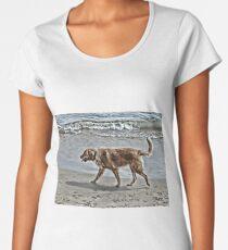 Roma at the beach Premium Scoop T-Shirt