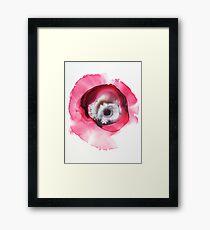 Poppy Framed Print