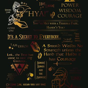 Legend of Zelda Quotes n Stuff by TheChummel