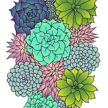 Succulents by julieerindesign