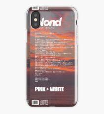 Frank Ocean - Pink + White iPhone Case/Skin