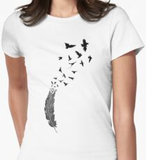 Birds flying from feather T-Shirt