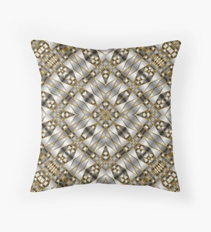 Winter Shades of Gray Throw Pillow